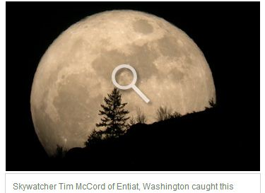 Большая Луна: каким было суперлуние в разных уголках